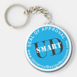 UD-Smart Seal of Approval Basic Round Button Key Ring