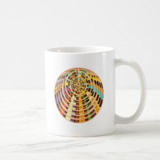 UFO 3D Energy Dome - Wave Spectrum Basic White Mug