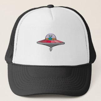 UFO and Space Alien Trucker Hat
