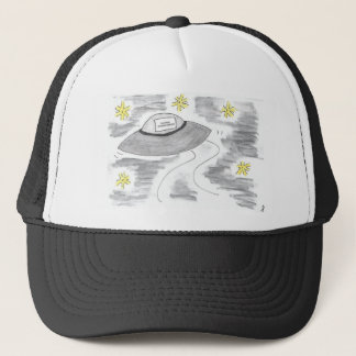 UFO Birthday Trucker Hat