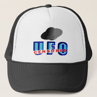UFO Censored Trucker Hat