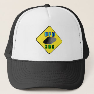 UFO Crossing Trucker Hat
