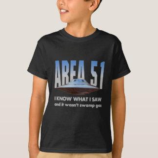 """UFO """"I know what I saw"""" T-Shirt"""