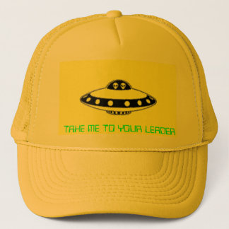 UFO INVASION! TRUCKER HAT