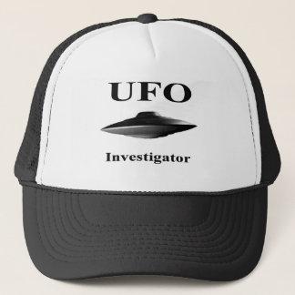 UFO Investigator Hat - Black Design