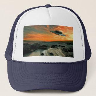 UFO Over Coast Trucker Hat