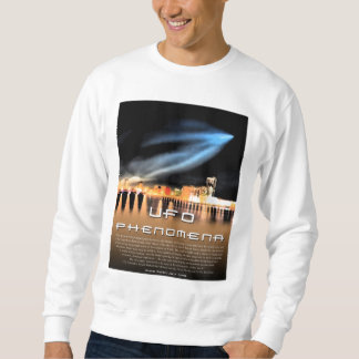 UFO Phenomena - Message to the Blackman quote Sweatshirt