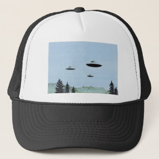 UFO Trio Trucker Hat