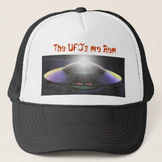 UFO's are Real Trucker Hat