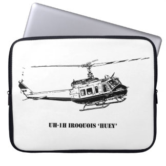 UH-1H Iroquois Helicopter Laptop Sleeve