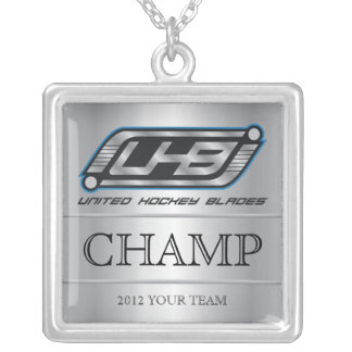 UHB Champ Silver Plated Necklace
