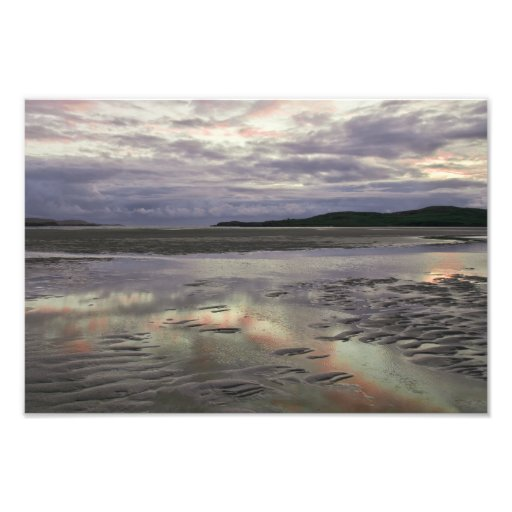 Uig Sands Outer Hebrides Photographic Print