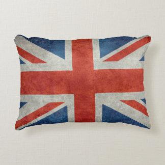 UK British Union Jack flag retro accent pillow