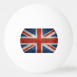 UK British Union Jack flag retro ping pong ball