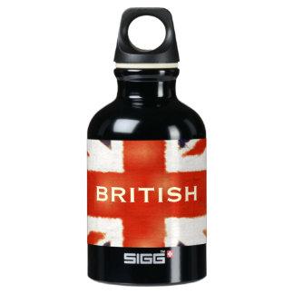 UK Flag British Union Jack Custom Bottle SIGG Traveller 0.3L Water Bottle