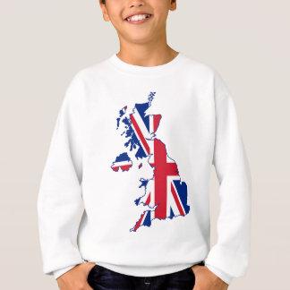 UK Flag Map Sweatshirt