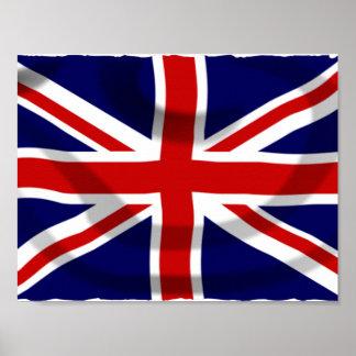 UK Flag Poster