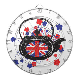 UK Teapot Metal Cage Dartboard
