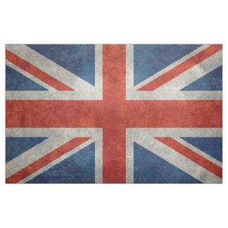 UK Union Jack on fabric