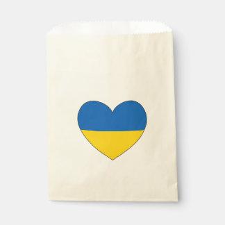 Ukraine Flag Simple Favour Bags