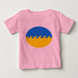 Ukraine Gnarly Flag T-Shirt
