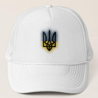 Ukraine Tryzub Trucker Hat