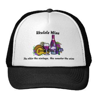 Ukulele Wine Hat