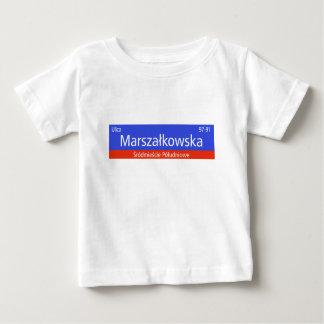 Ulica Marszalkowska, Warsaw, Polish Street Sign Baby T-Shirt