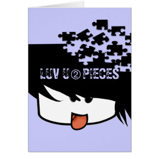 Ultra Cute Anime Boy Card