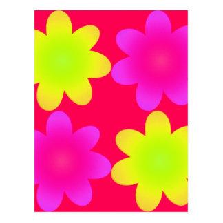 ULTRA FLOWERS POSTCARD