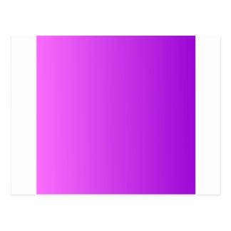 Ultra Pink to Dark Violet Vertical Gradient Postcard