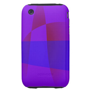 Ultraviolet Rays iPhone 3 Tough Cases