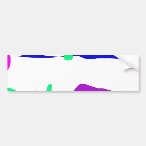 Umbrella Bumper Sticker
