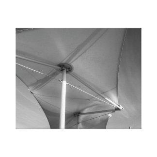 Umbrella Stretched Canvas Print