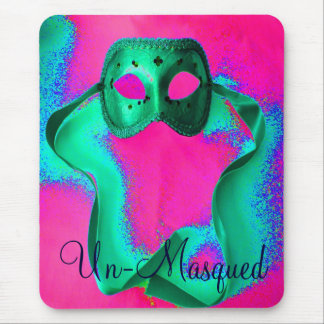 """Un-Masqued"" Mousepad - Customizable Mousepads"