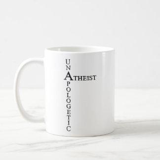Unapologetic Atheist Basic White Mug