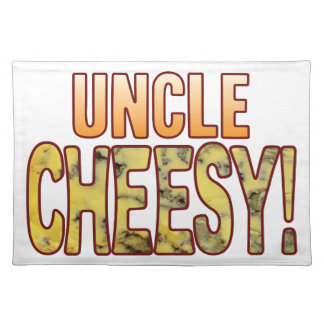 Uncle Blue Cheesy Placemat