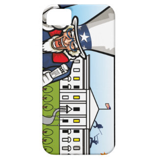 Uncle Sam Barely There iPhone 5 Case
