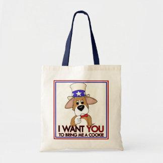 Uncle Sam Corgi Bag