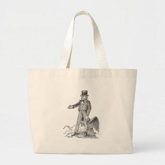 Uncle Sam Large Tote Bag