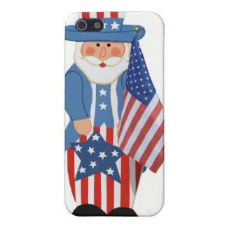 Uncle Sam Logo Cover For iPhone 5/5S