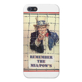 Uncle Sam POW-MIA Case For iPhone 5/5S