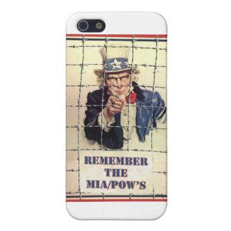 Uncle Sam POW-MIA iPhone 5 Cover