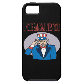 Uncle Sam Salutes You iPhone 5 Cover