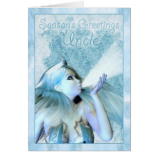 Uncle Season's Greeting, The Frost Maiden Card