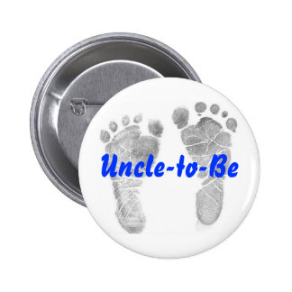 Uncle-to-Be 6 Cm Round Badge
