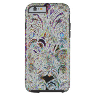 Uncommon Artsy Swirls With Color Design Tough iPhone 6 Case