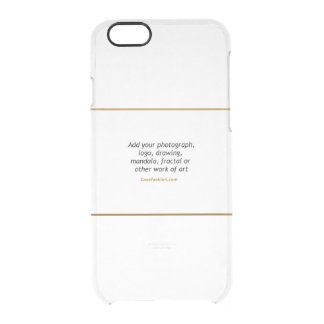 Uncommon iPhone 6 Clearly Deflector Case