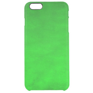 Uncommon iPhone 6 Plus Clearly™ Deflector-Green Clear iPhone 6 Plus Case