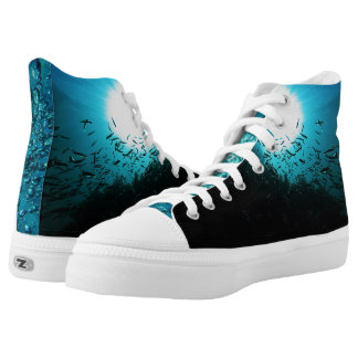 Under the Deep Blue Sea Printed Shoes